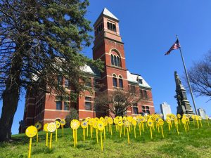 """Pollination"" Flowers Planted @ Front Lawn of Hartley Dodge Memorial Building"