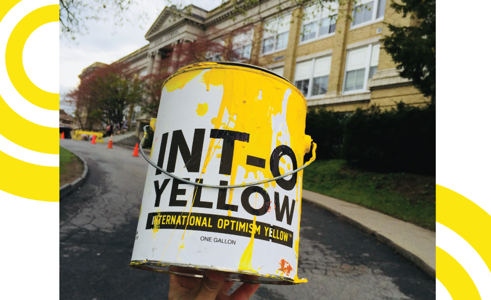 Kingston High School is #INTOYellow